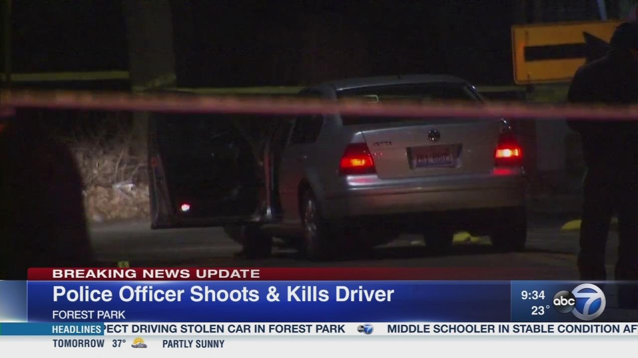 Forest Park officer fatally shoots hit-and-run suspect