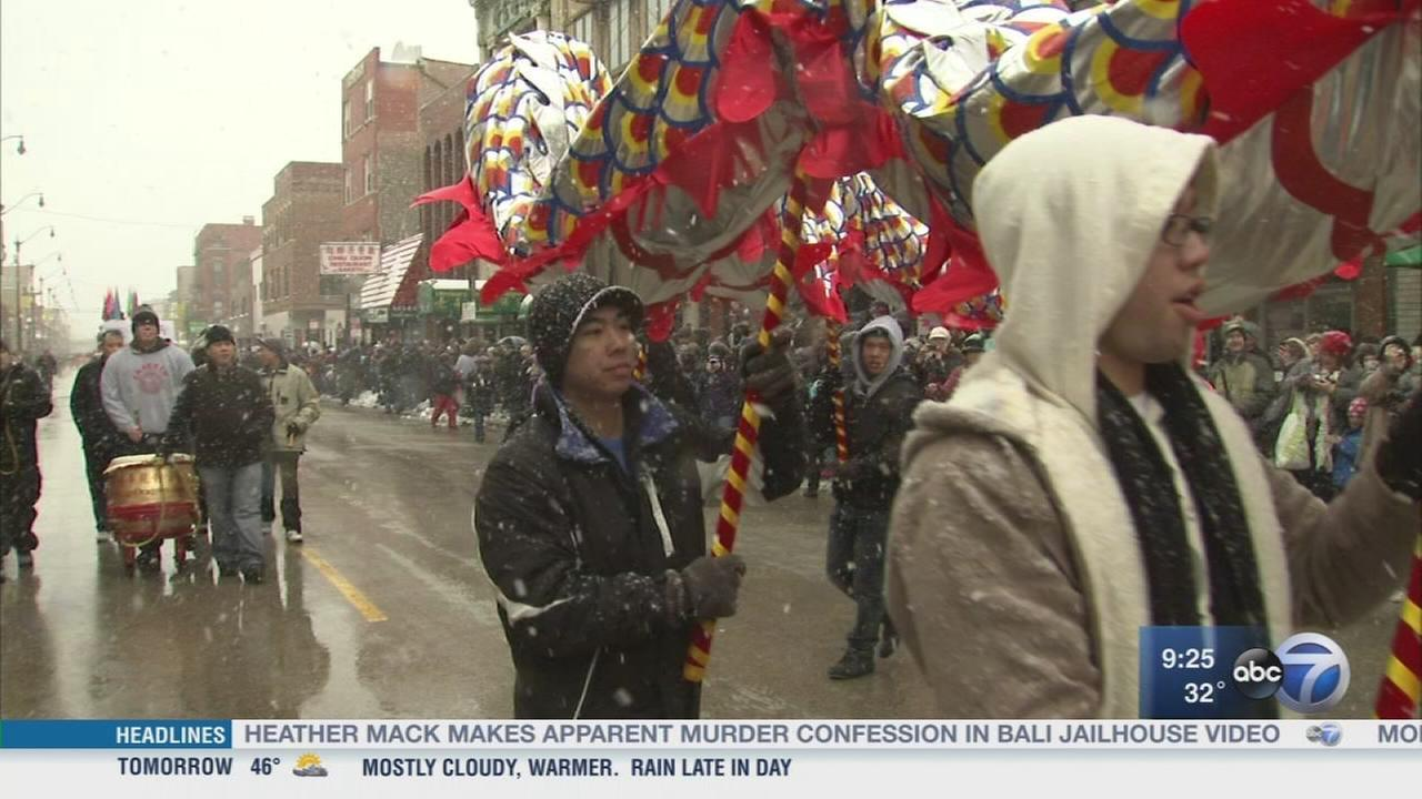 Chinatown celebrates the Lunar New Year with a parade
