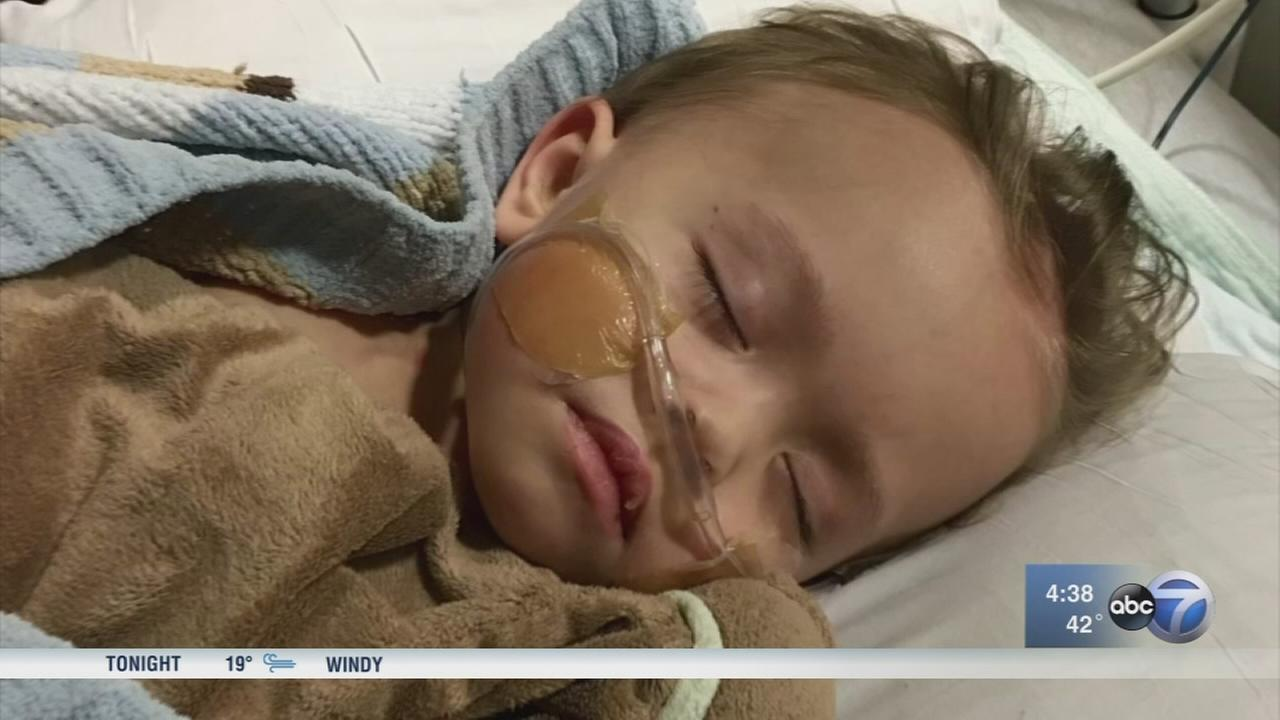 Toddler gets kidney from parents former classmate
