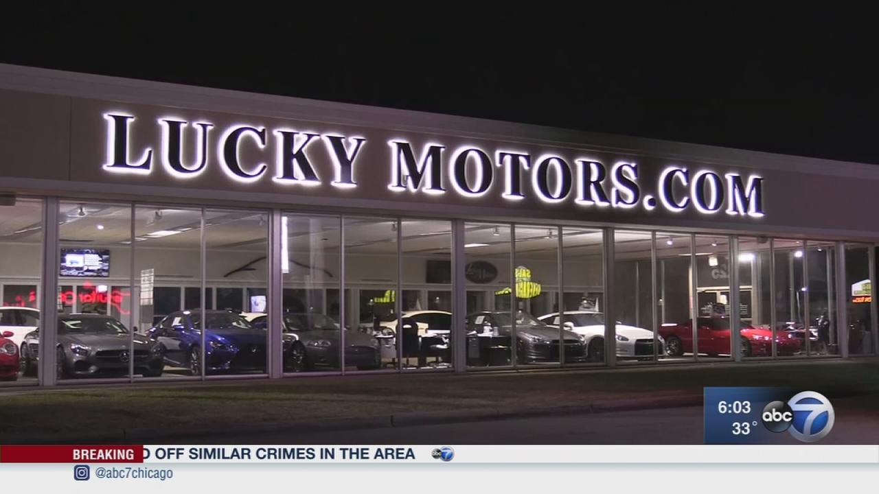 Cars stolen from Villa Park dealership