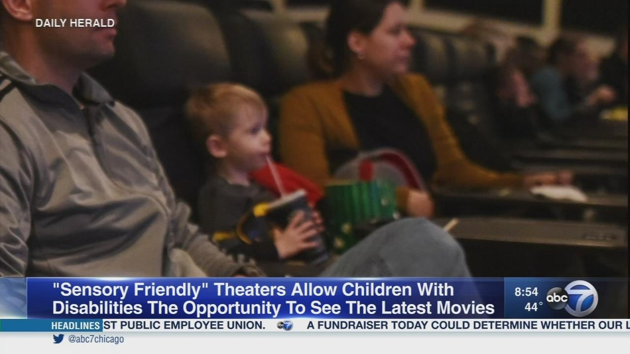 Daily Herald: Sensory-friendly movie theaters
