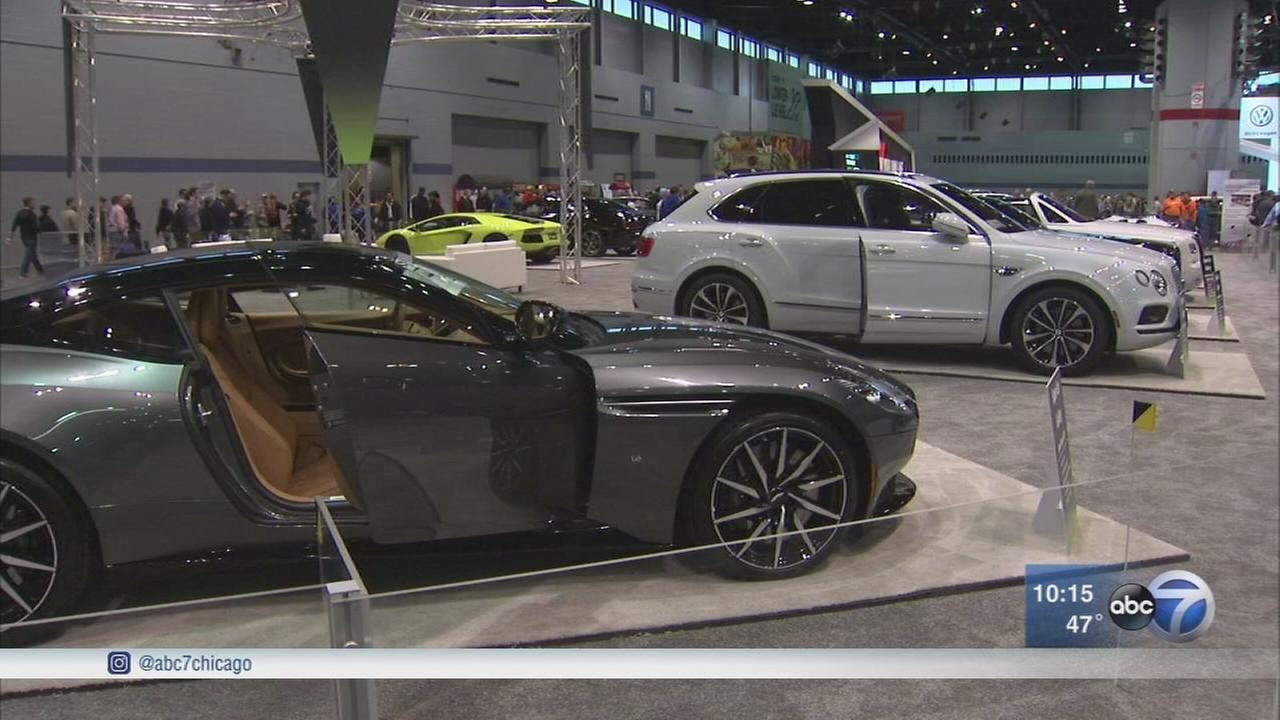 Chicago Auto Show concludes on Monday