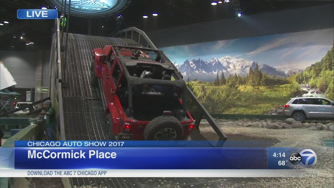 Final day of the Chicago Auto Show