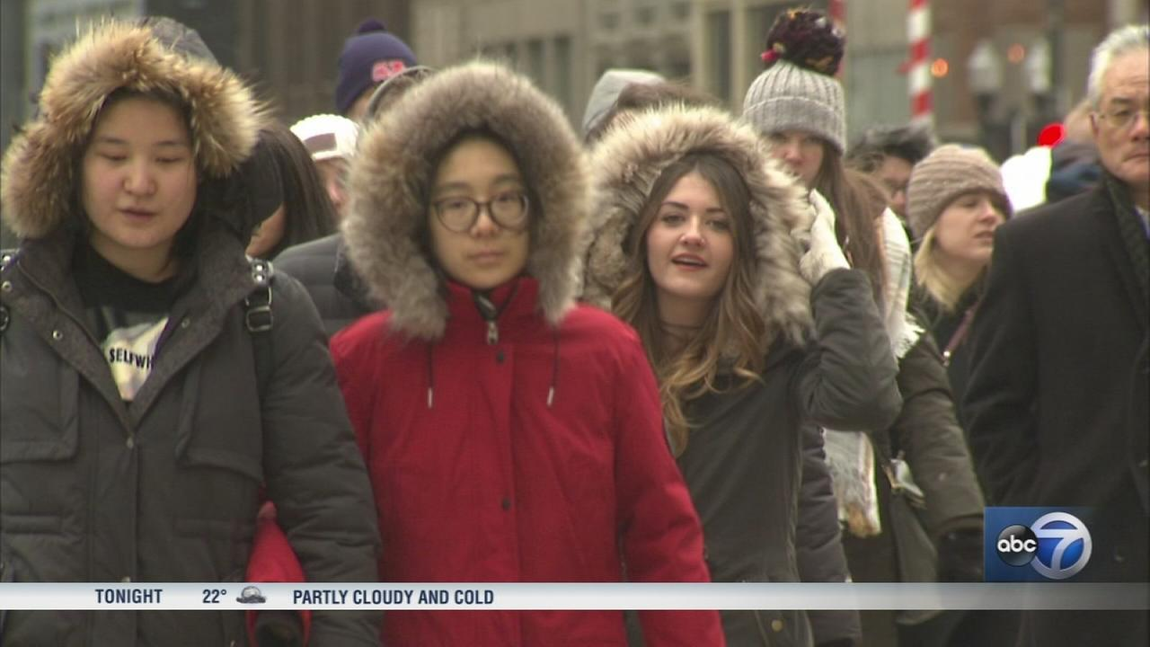 Cold Saturday gives Chicagoans weather whiplash