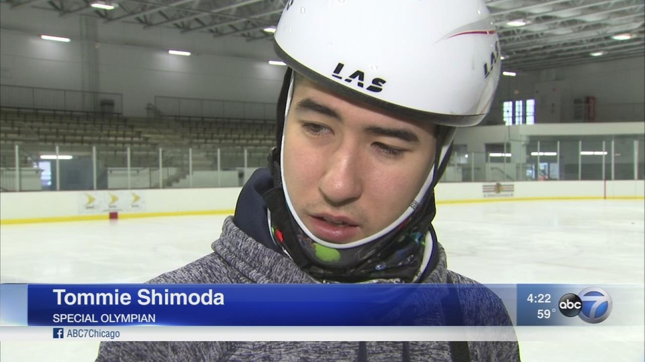 Chicago speed skater to compete in Special Olympics