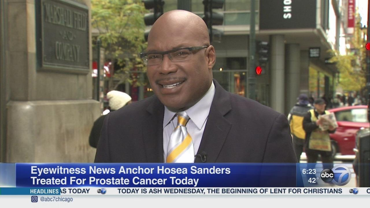 Sanders diagnosed with prostate cancer