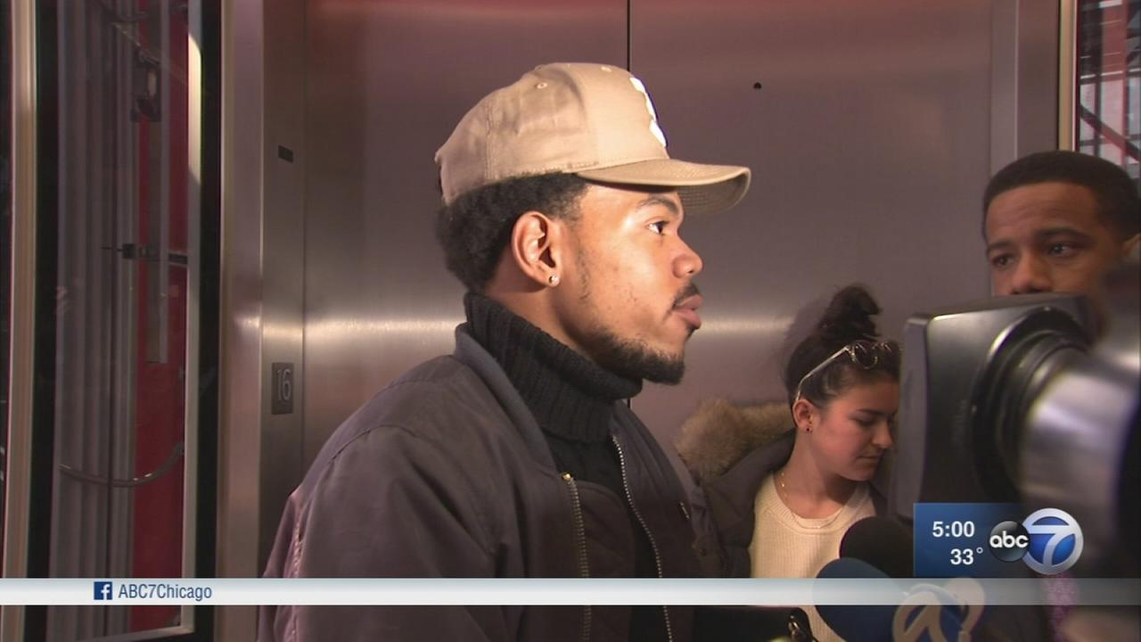 Chance the Rapper meets with Governor Rauner