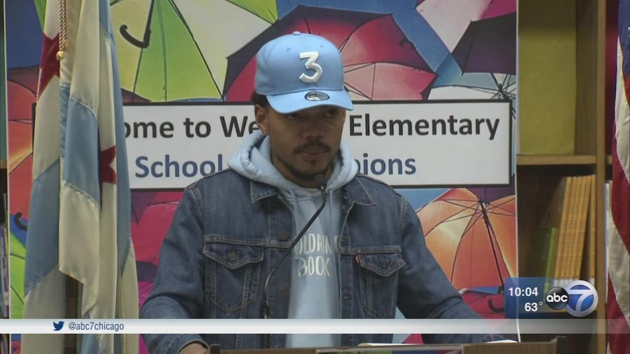 Chance the Rapper donates $1M to CPS