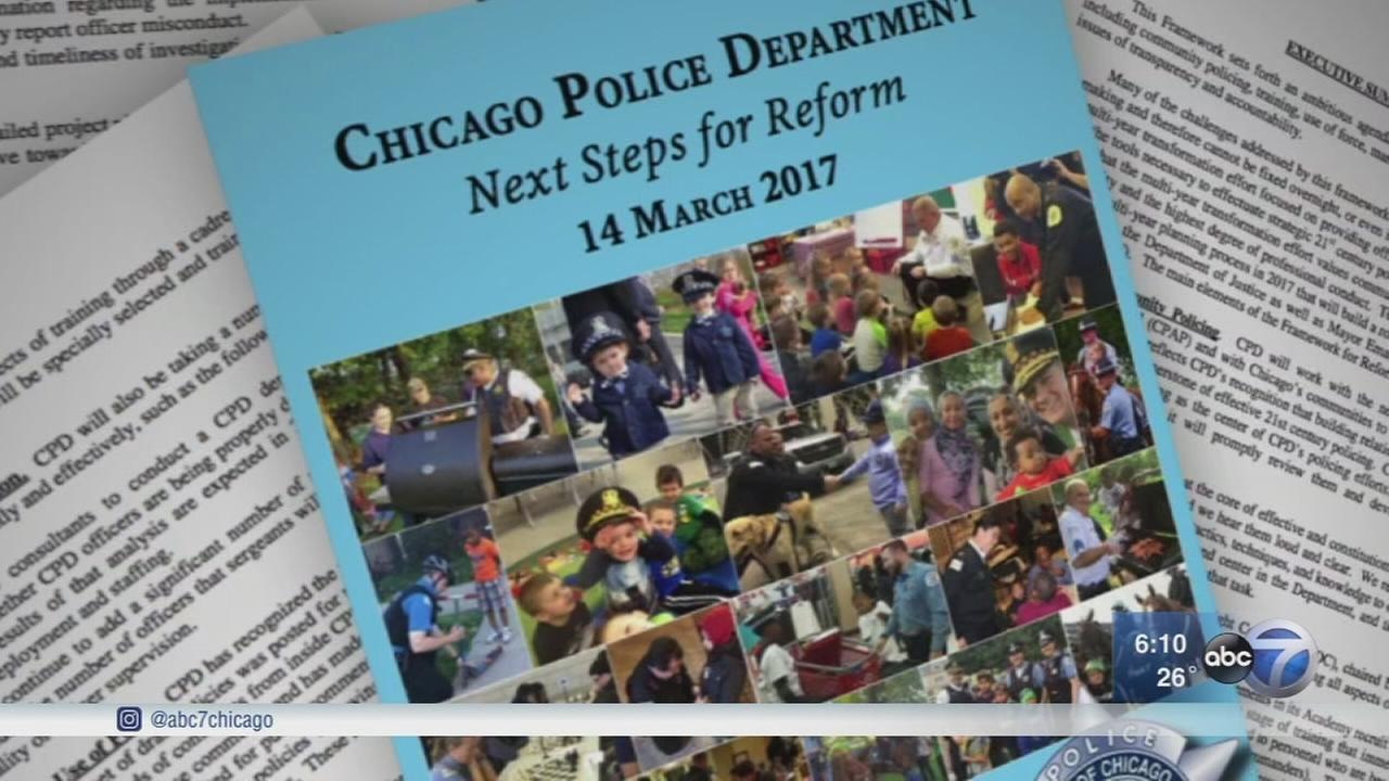 CPD outlines police reforms