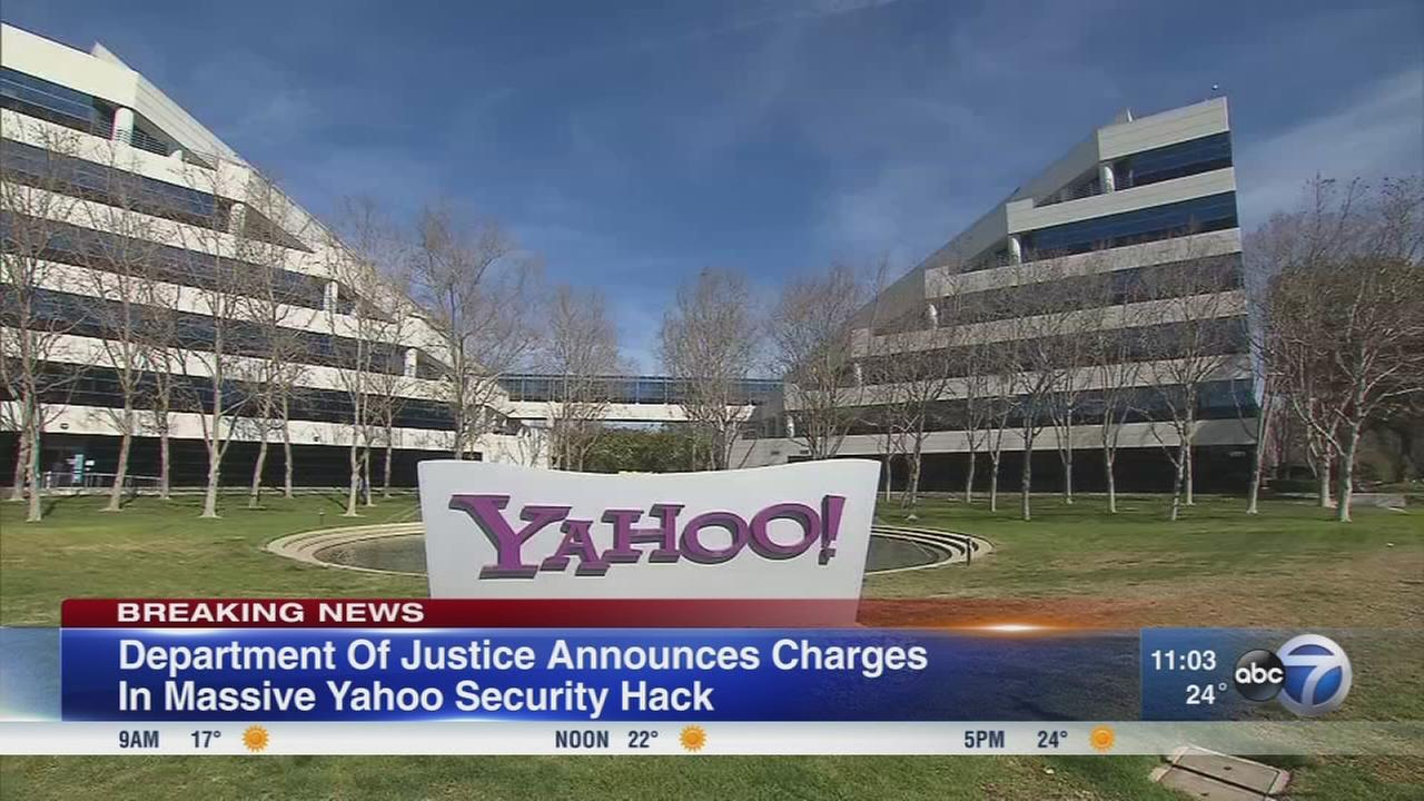 Yahoo hacking charges announced