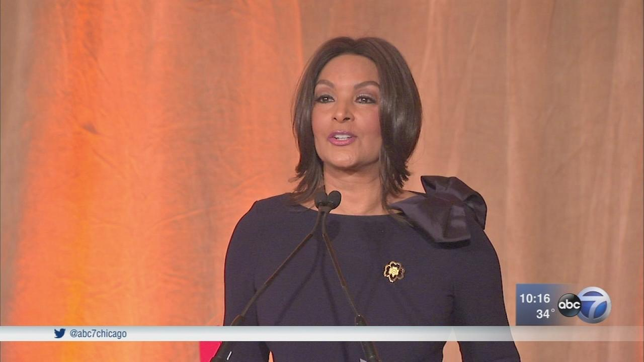 ABC7s Cheryl Burton honored by Girl Scouts
