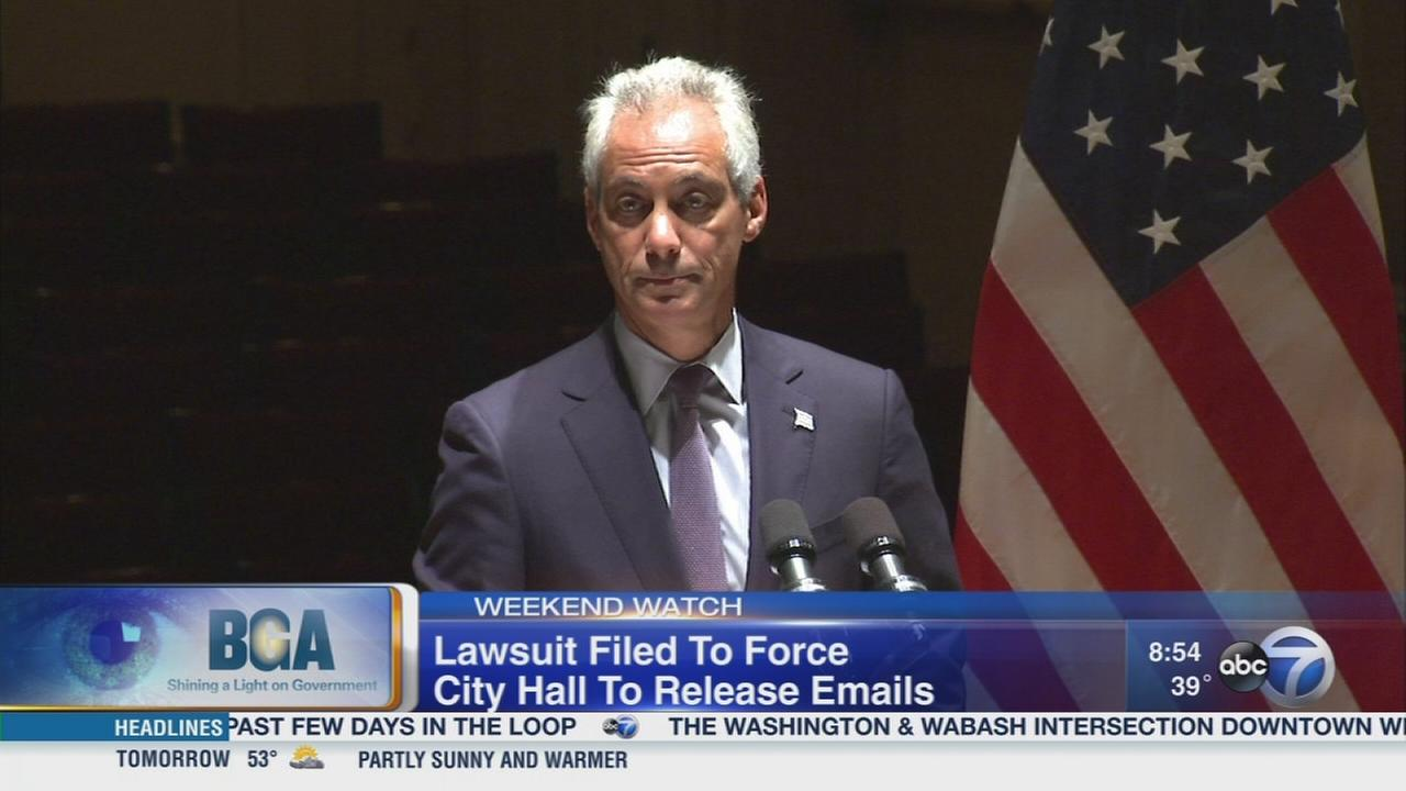 Weekend Watch: Mayor Emanuels emails