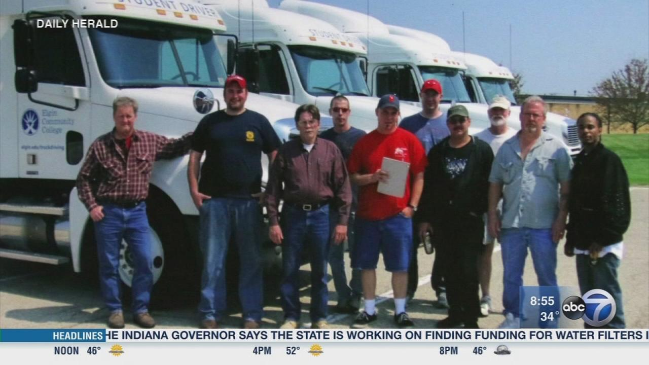 Daily Herald: Elgin Community Colleges truck driving program