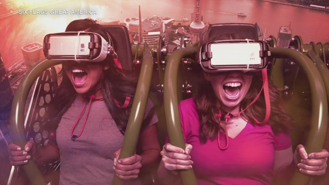 New virtual reality ride comes to Six Flags