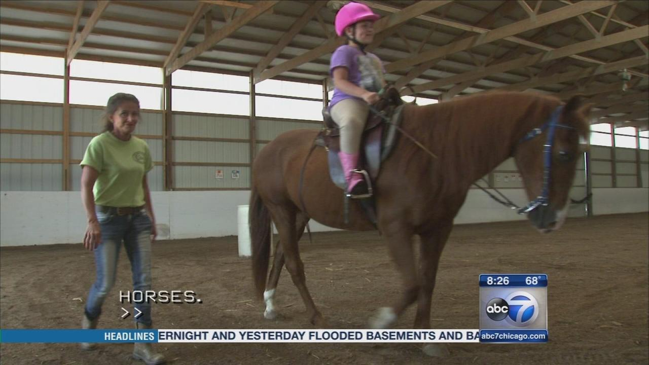 Victory Reins horseback riding for people with disabilities