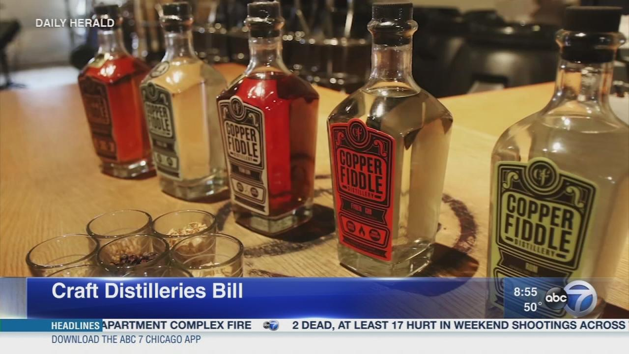 Daily Herald: Proposal to allow craft distilleries to bypass distributors