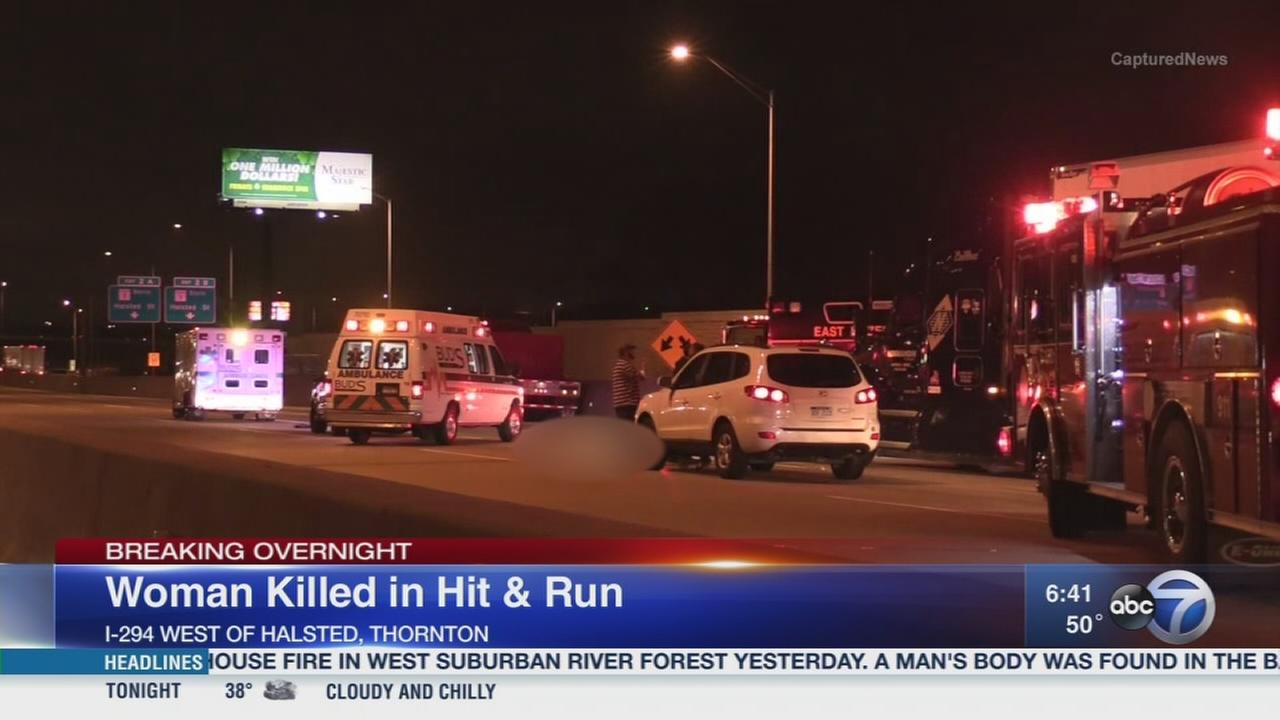 Woman killed in Tri-State hit-and-run