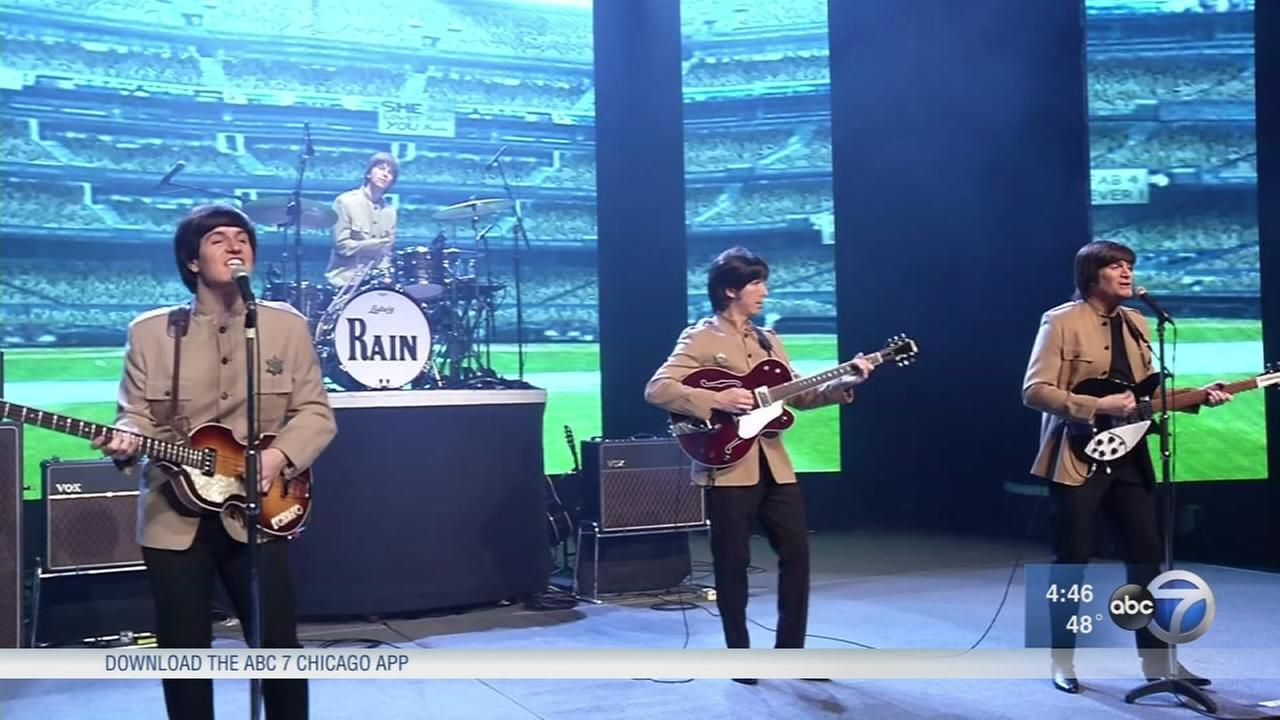 Beatles tribute band performs at Oriental Theatre