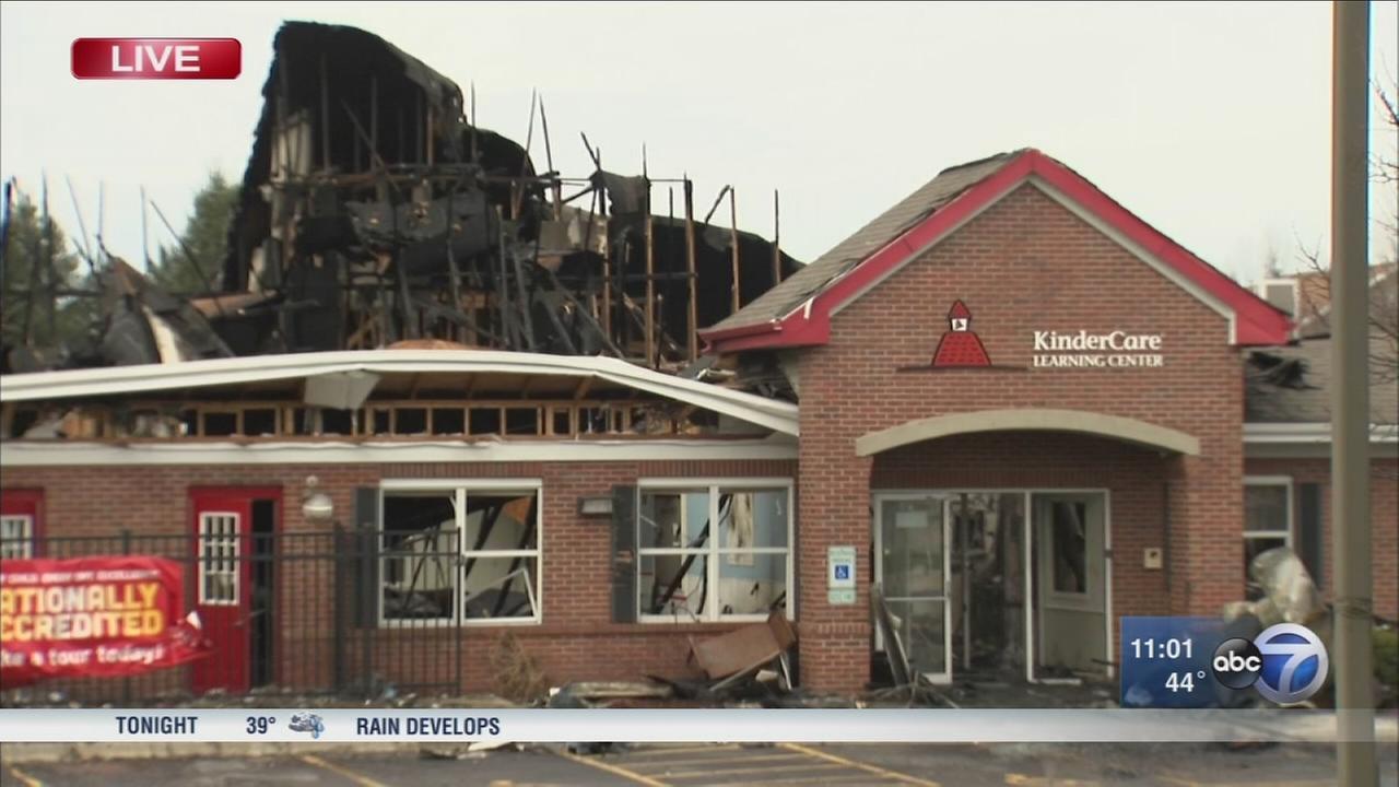 Fire destroys South Elgin KinderCare