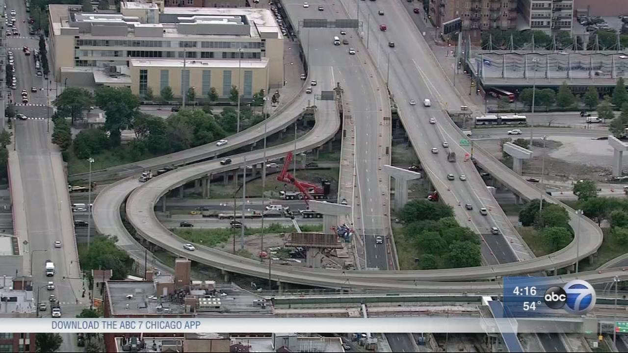 Keep an eye out for construction, changing traffic patterns