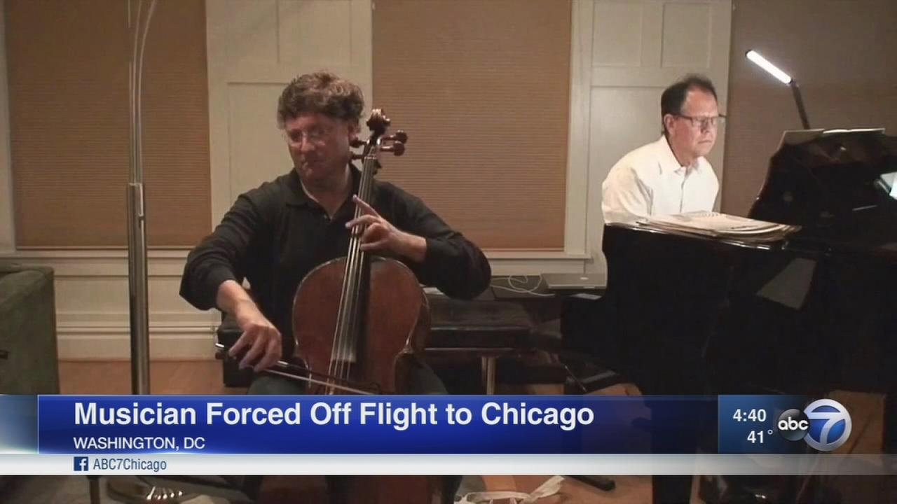 Musician mortified, kicked off flight after buying seat for cello