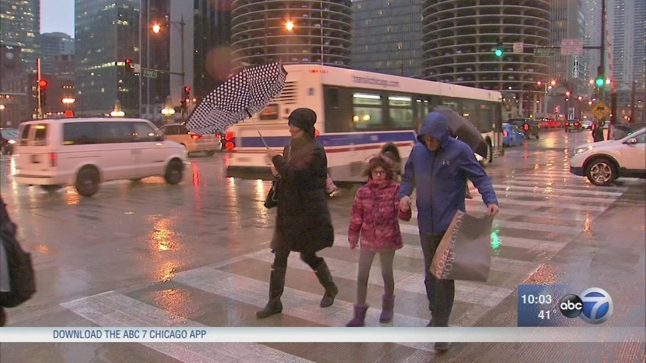 Rain mixed with snow; wind gusts up to 60 mph, waves up to 22 ft possible