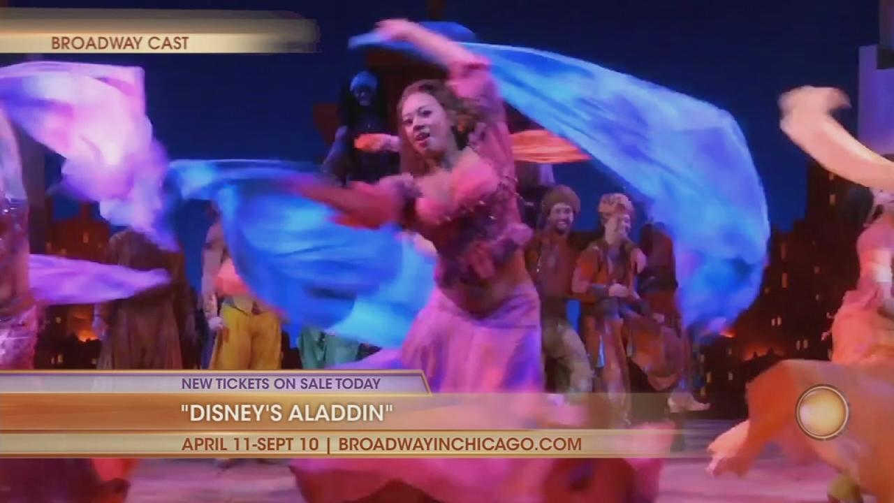 Aladdin, SNL and Cindy Crawfords daughter