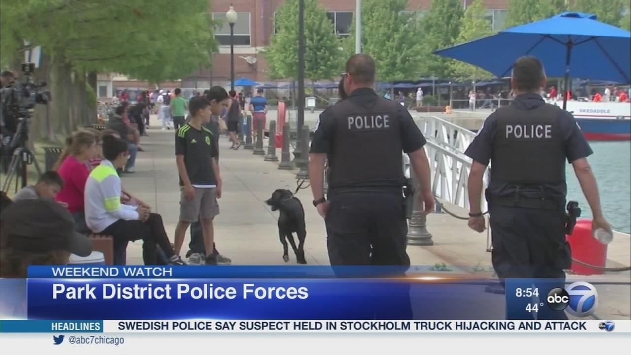 Weekend Watch: Park district police forces