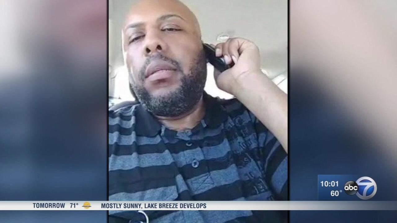 Cleveland manhunt underway in Facebook live murder
