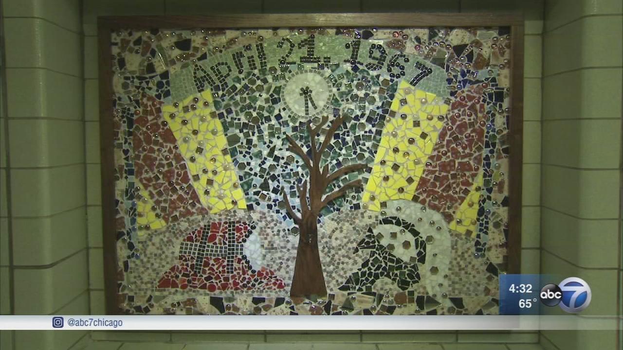 Mosaic remembers devastation of Oak Lawn tornado