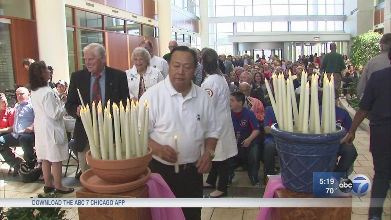 Vigil held in honor of National Donate Life Month