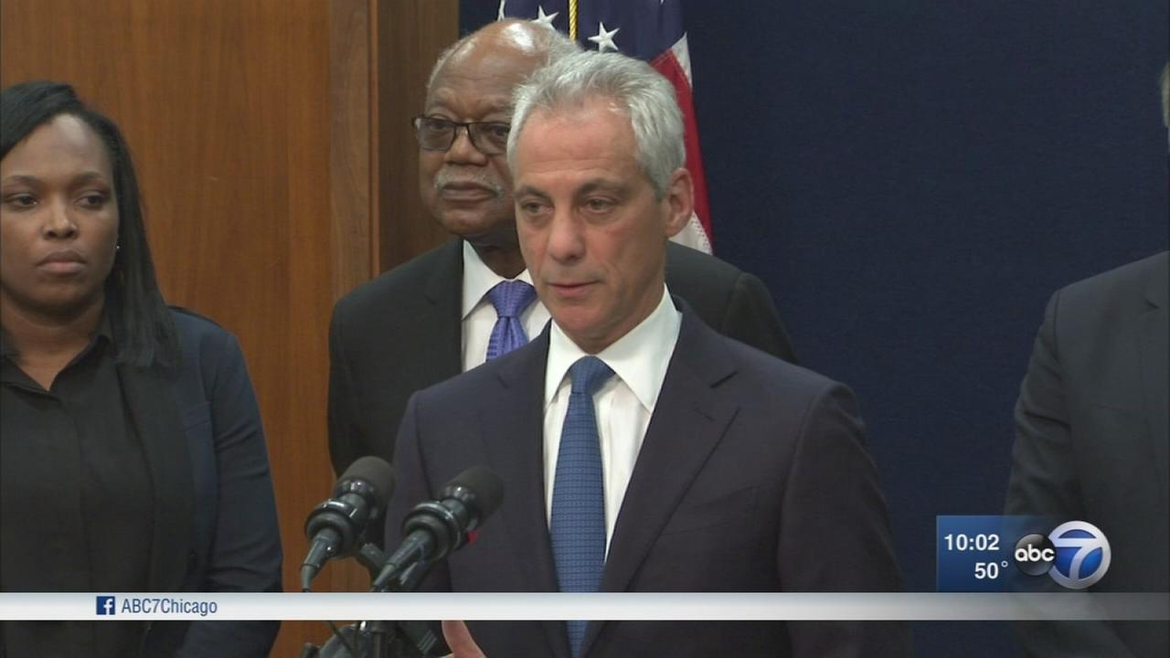 CPS will remain open until end of school year, Rahm Emanuel says