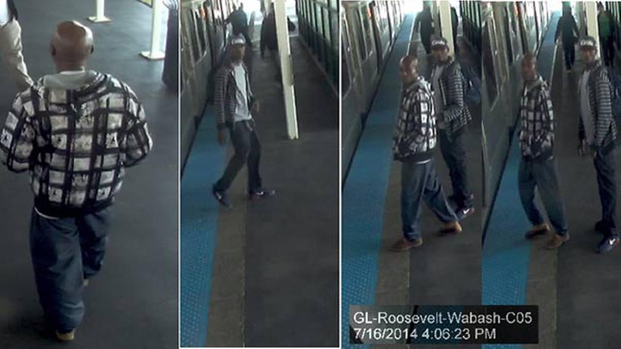 The Chicago Police Department released surveillance images of the suspects in the CTA Orange Line robberies.
