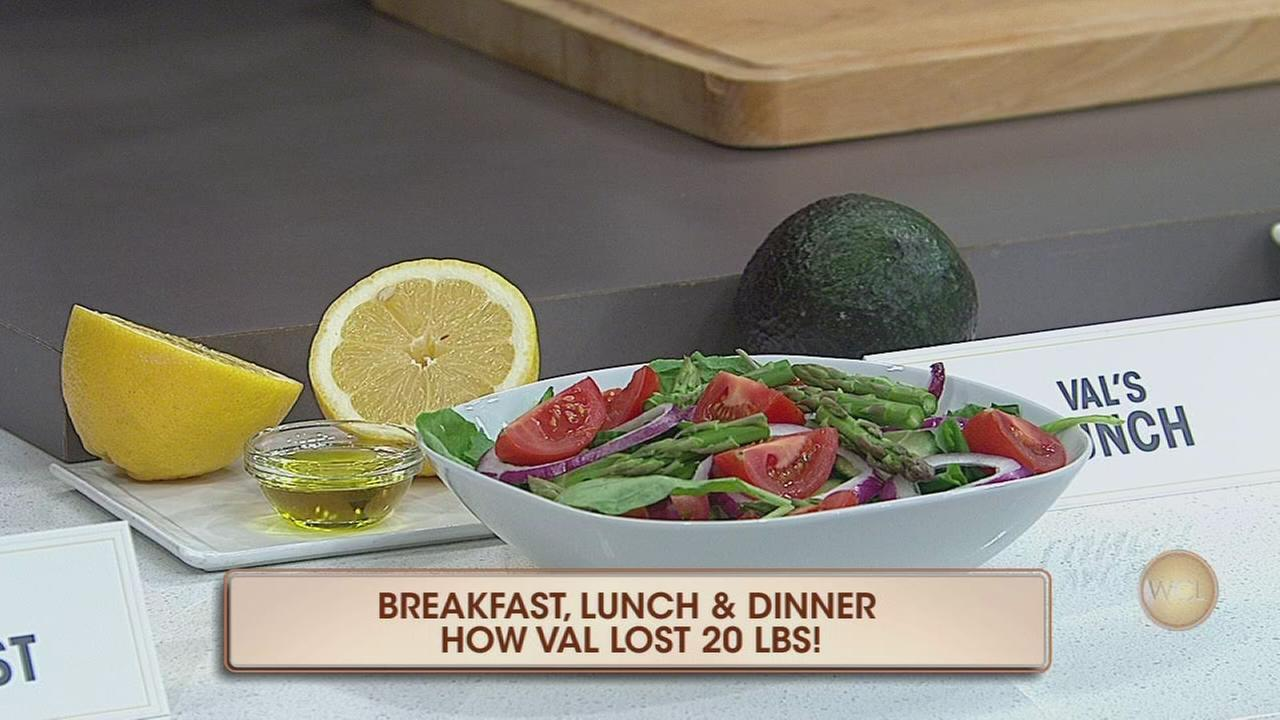 Val shares weight-loss diet