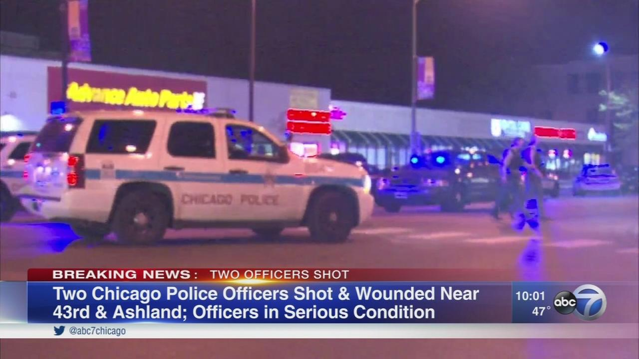 2 CPD officers shot in Back of the Yards