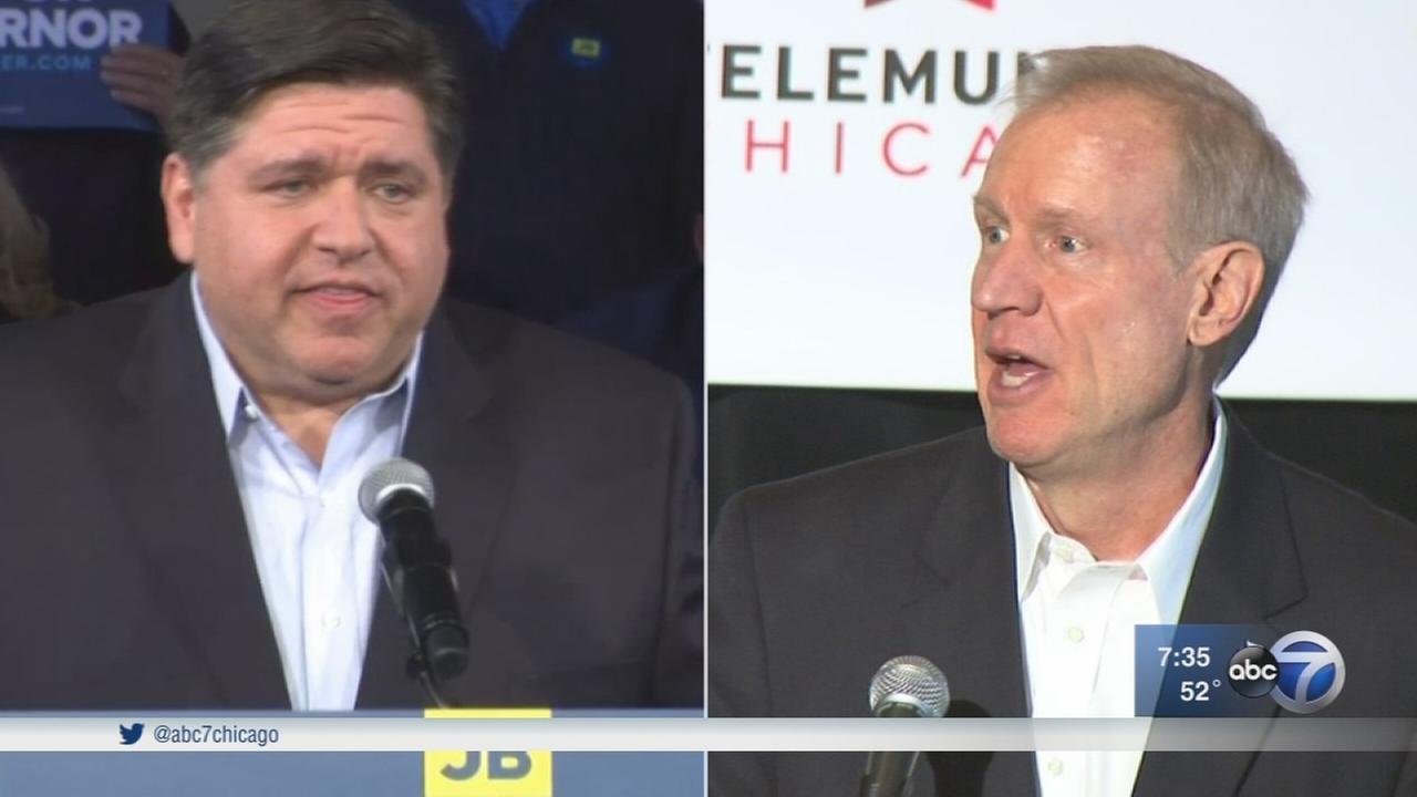 Illinois gubernatorial candidates already spending big money