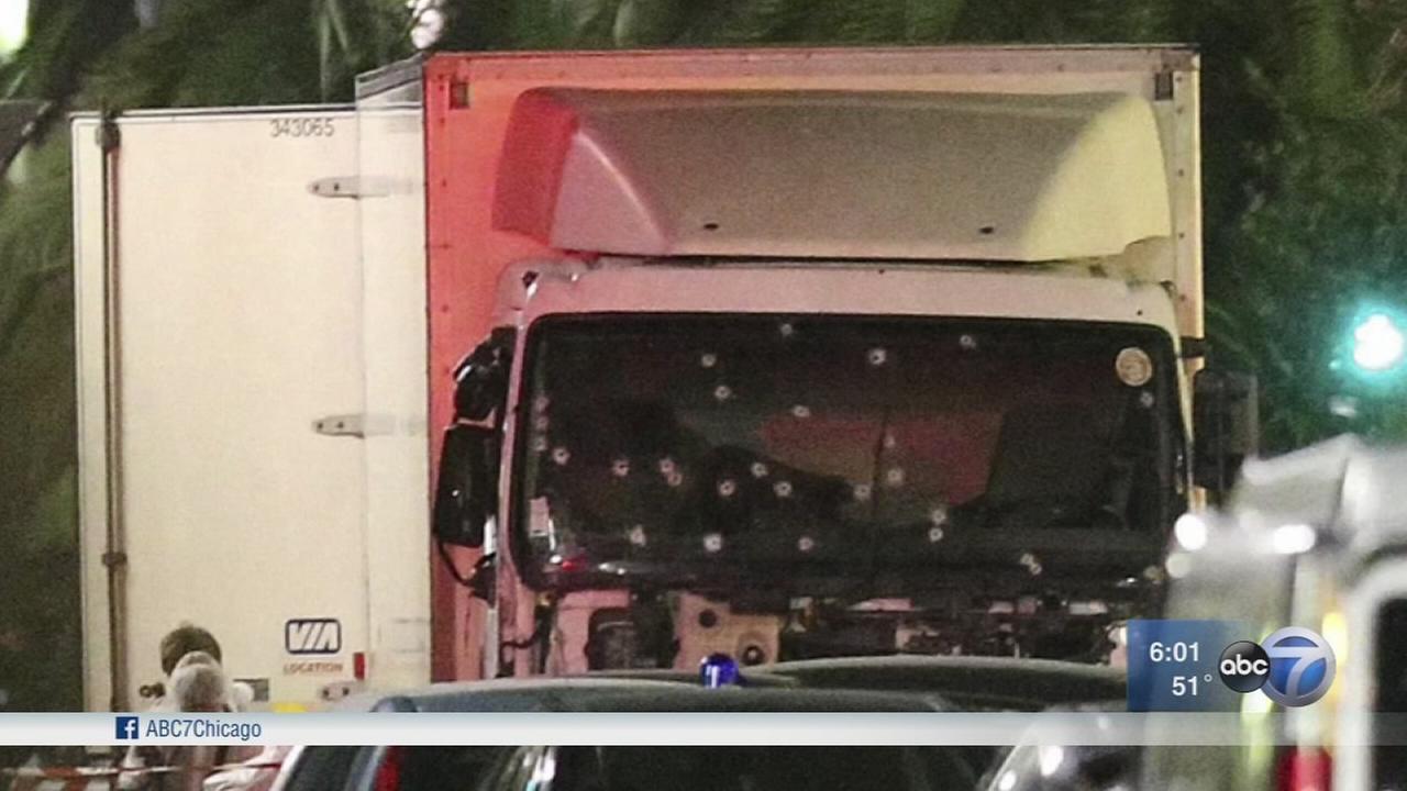 Authorities warn terrorists may try truck-ramming attacks in US