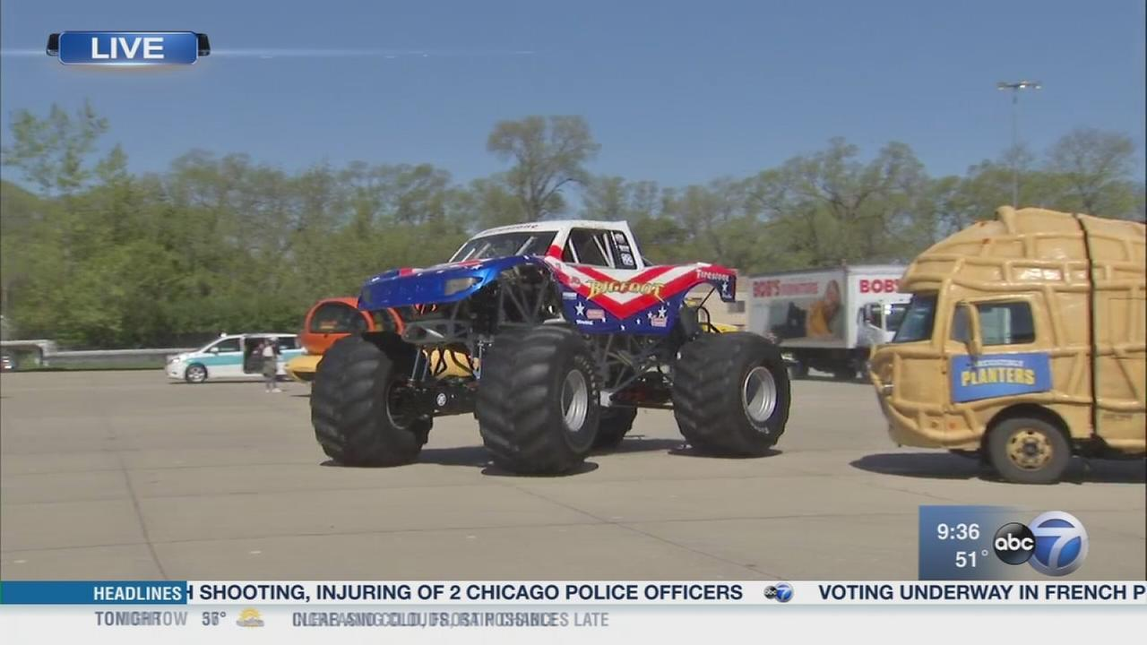 Get up close at the Touch a Truck Family Festival