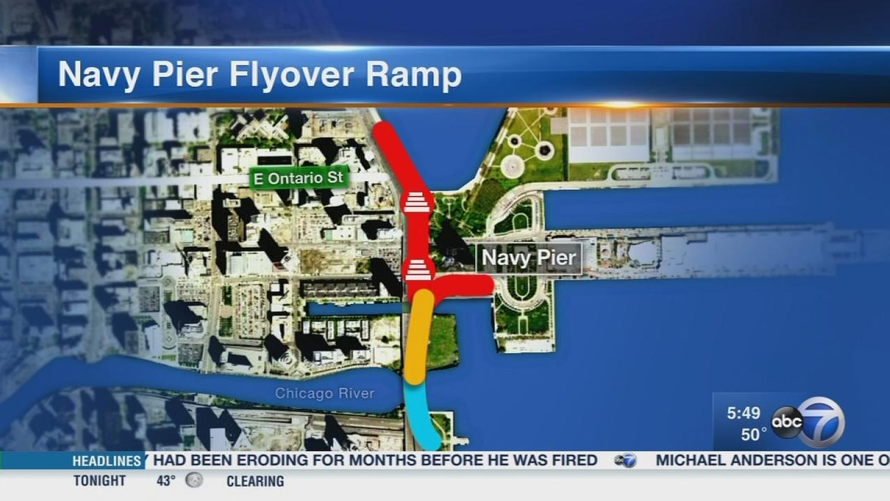 Whats Driving You Crazy? Navy Pier flyover ramp