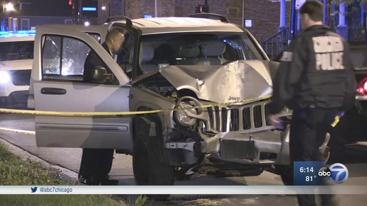 Woman, 18, rammed by SUV, killed in Morgan Park
