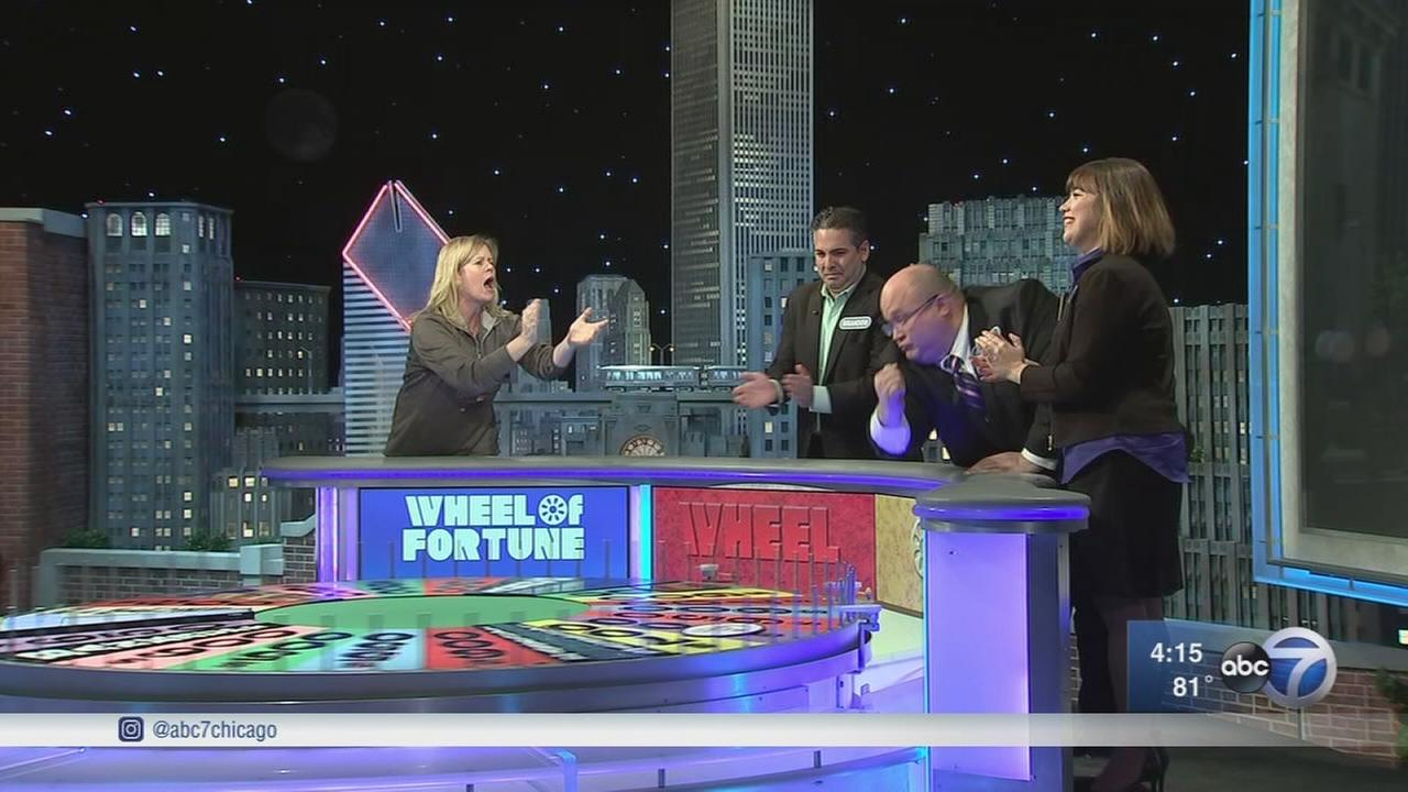 Its Chicago Week on Wheel of Fortune