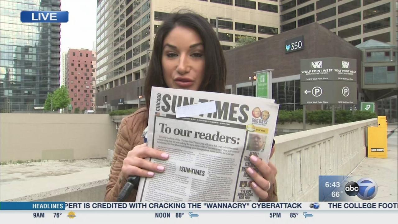 Tribune owners wants to buy Sun Times
