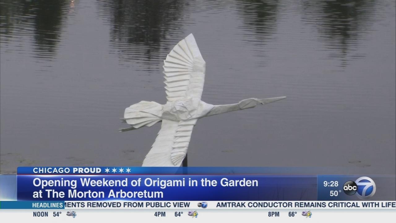 New art installation at the Morton Arboretum