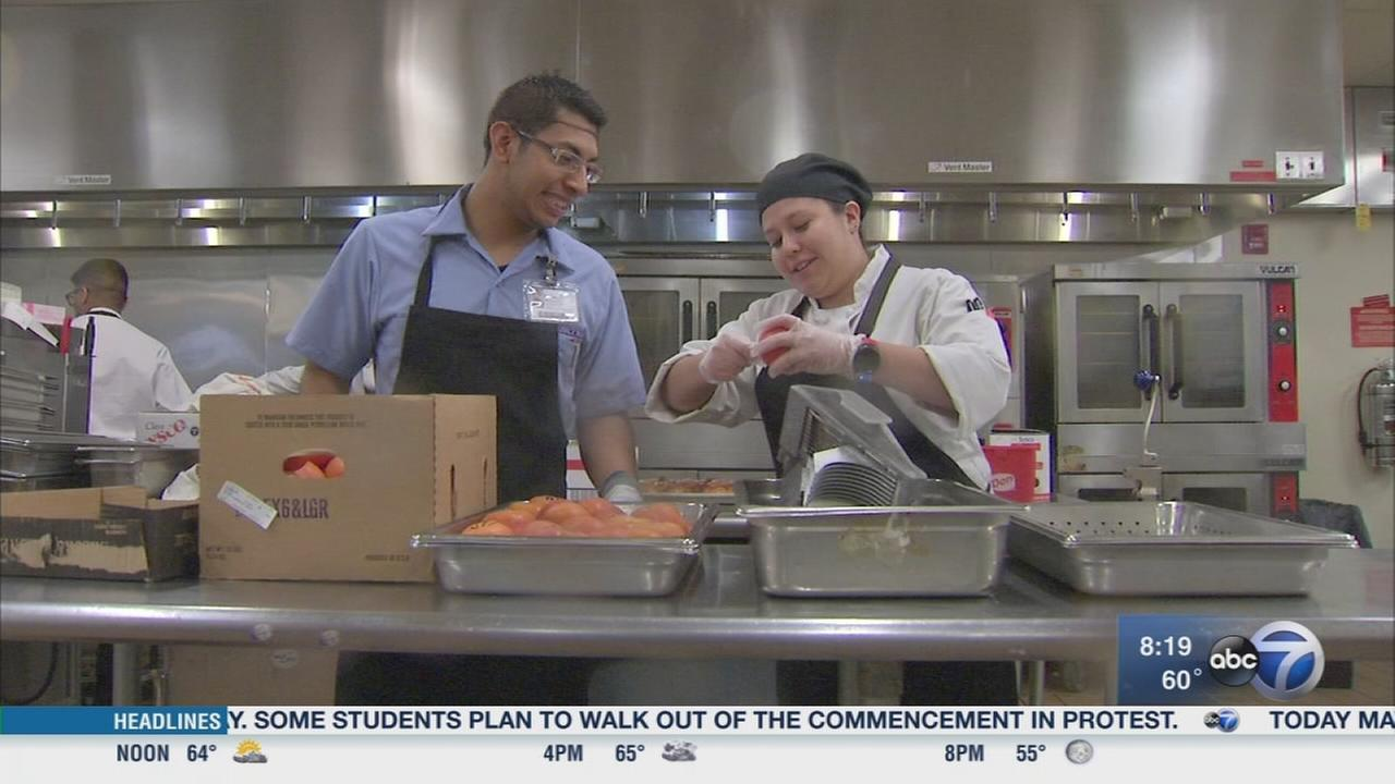 Students with disabilities learn job skills through Project SEARCH