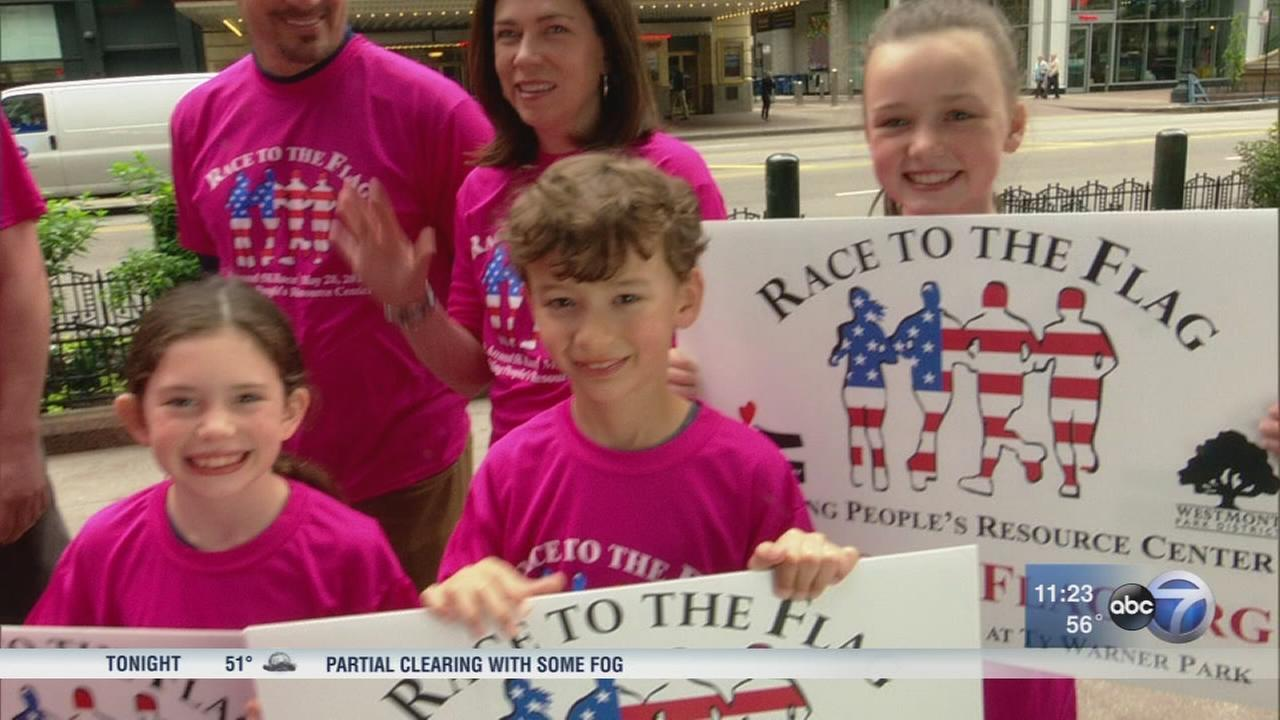 Help neighbors in need at Race to the Flag