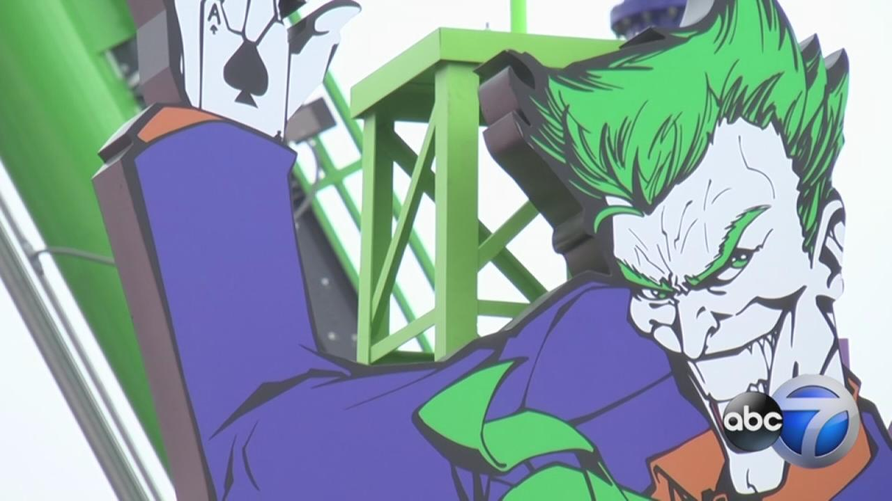 The Joker at Six Flags