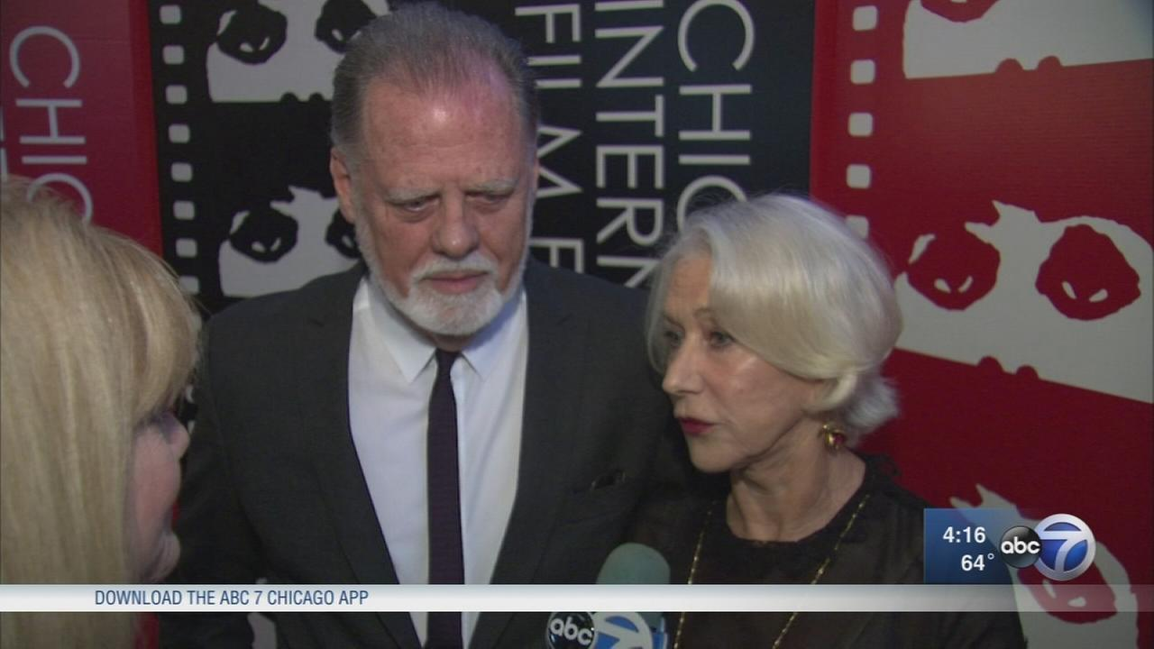 Chicago Film Festival honors Helen Mirren, husband Taylor Hackford