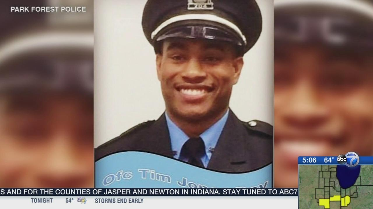 Park Forest officer heads home 1 year after shooting