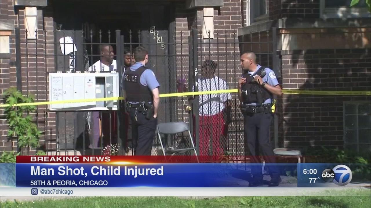 Police: Teen shot, child injured in Englewood