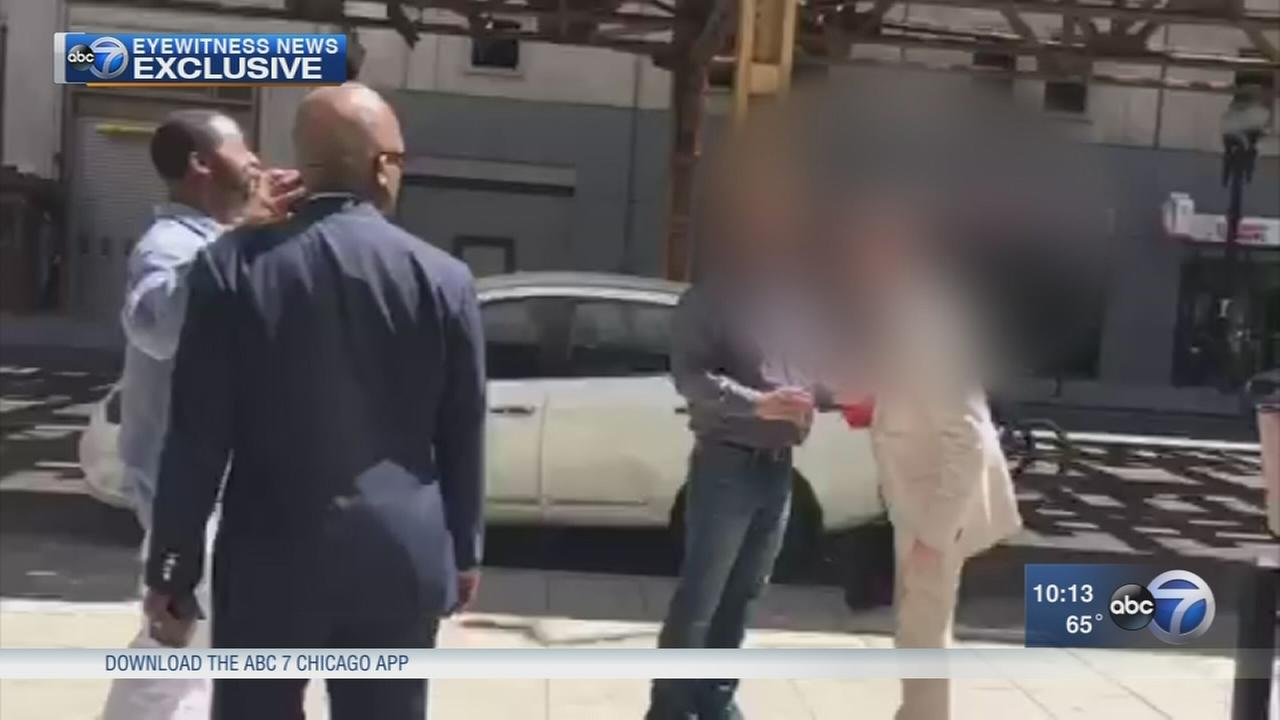 Man arrested after racially-charged fight at Loop Starbucks